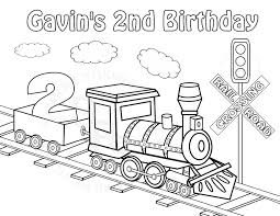 Top Coloring Pages Trains 22 #10158