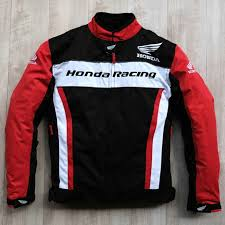 honda racing black red color with white line breathable mesh racing suit racing motorcycle jacket