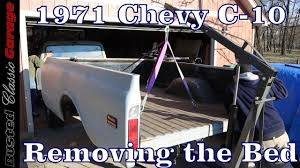 1971 chevy c 10 how to remove a bed on a 1967 72 chevy c10 project truck