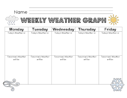 Collections of Printable Weather Worksheets, - Easy Worksheet Ideas