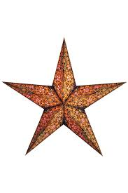 earth friendly starlightz  designer lamps  paper stars