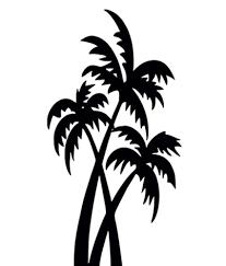 Tree Design Romanshopping Black Coconut Tree Design Wall Sticker Buy