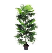 fan palm. artificial fan palm