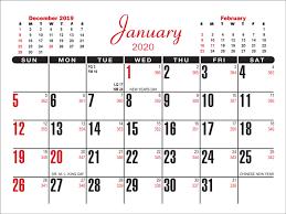 2020 37 Calendar Pad Memo Pad