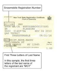 Sample Letter To Dmv New York Dmv Sample Registration Documents