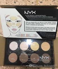 nyx highlight contour pro pattle review face pressed powder foundation grooming shadow powder palette makeup cosmetic free ship applying bronzer best