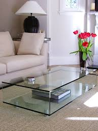 classic glass coffee table classic