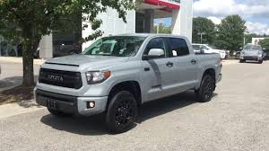 2017 TRD PRO TOYOTA TUNDRA CEMENT GRAY - YouTube