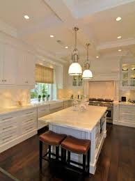 kitchen design cabinets traditional light:  cool traditional kitchen light fixtures with wooden floor and white cabinet