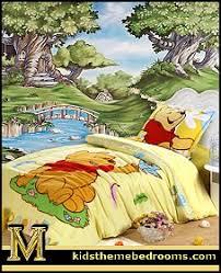 Winnie_pooh_bedding Storybook_Hollow_Wall_Mural Winnie_pooh_bedding Storybook_Hollow_Wall_Mural