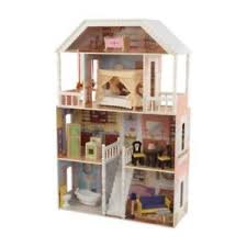 cheap wooden dollhouse furniture. Image Is Loading Girls-Wooden-Dollhouse-Furniture-4-Levels-Kids-Play- Cheap Wooden Dollhouse Furniture O