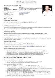 Curriculum Vitae Meaning Pronunciation Resume Pdf Download