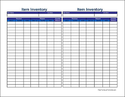 keep track of inventory free small simple item inventory sheet tall from formville