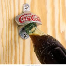 Coca-Cola Drink Cast Iron Wall Bottle Opener