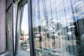 commercial front window glass