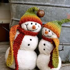 snowman buds decoration