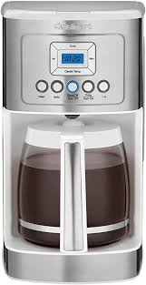 This model is engineered in the most simplistic way with best of the features and sharp looks. Amazon Com Cuisinart Dcc 3200w Perfectemp Coffee Maker 14 Cup Progammable Coffeemaker With Glass Carafe White Kitchen Dining