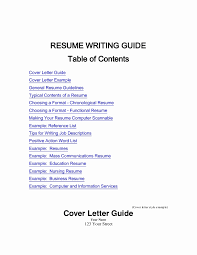Resume Contents And Format Awesome Examples By In - Sradd.me