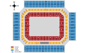 Monster Jam Atlanta Seating Chart Wells Fargo Center Online Charts Collection