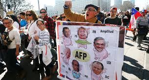 Resultado de imagen para reforma de pensiones chile