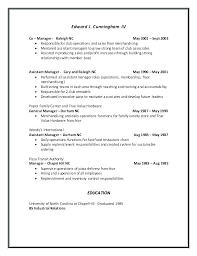 Assistant Manager Responsibilities Operations Assistant Job ...