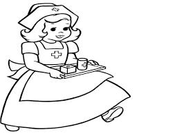 Nurse Coloring Pages Best For Kids At Bitsliceme