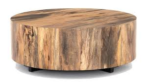 boni round alder wood iron coffee table