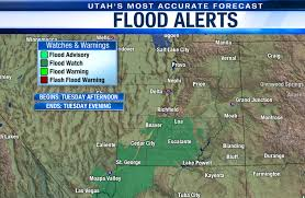 National weather service has issued a tropical storm watch and a flash flood watch for parts of central louisiana. Heavy Rain And Flash Flooding Ahead For Parts Of Utah Utah Weather Abc4