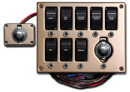 marine electrical switch panels boat wiring easy to install ezacdc marine electrical switch panel