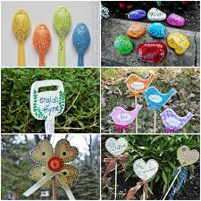 garden crafts. Lots Of Garden Crafts That You Can Make! Create Your Own Decorations With These R