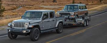 Jeep Towing Chart 2020 Jeep Gladiator Towing Capacity Jeep Gladiator Payload