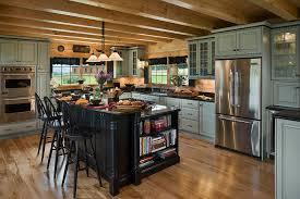 Cabin Kitchen Design Creative Interesting Design Inspiration