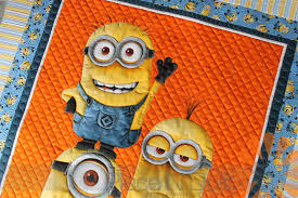 Piece N Quilt: Minion Quilt - Custom Machine Quilting by Natalia ... & Minion Quilt - Custom Machine Quilting by Natalia Bonner Adamdwight.com