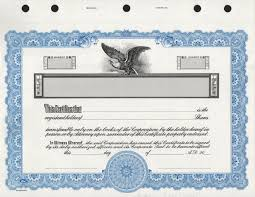 Stock Certificats Kg3 Corporate Stock Certificates Free Shipping Exhibitindexes Com