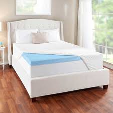 memory foam mattress topper. Delighful Topper Novaform 3u201d EVENcor GelPlus Gel Memory Foam Mattress Topper With Cooling  Cover And