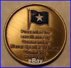 Commander Naval Special Warfare Command Seals 1 Star Admiral