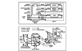 broan bathroom fan wiring diagram how to wire bath fan light combo in remodel i suppose i could do that as