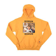 Dumbgood Size Chart The Shining Danny Redrum Champion Gold Hoodie In 2019