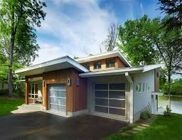 mid century modern home plans small