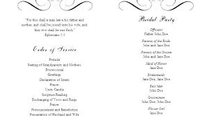 Wedding Order Of Events Template The Day Image 0