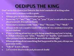 Oedipus The King Essay Topics Essays Oedipus The King Oedipus Rex