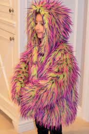 kids fur coat monster coat furry kids coat kids fur jacket