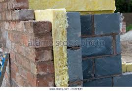 Fibreglass Insulation Stock Photos & Fibreglass Insulation Stock ... & Fibreglass insulation in cavity wall - Stock Image Adamdwight.com
