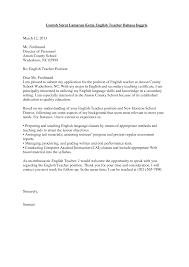 Surat Lamaran Kerja Guru Bahasa Inggris Bahasa Surat Bahasa Inggris