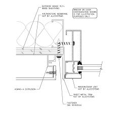 modern door jamb detail. Delighful Modern Exterior Door Sill Wood Jamb Detail Plan Throughout Modern R