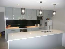 galley kitchen no clashing cabinet doors or appliance doors in this style kitchen