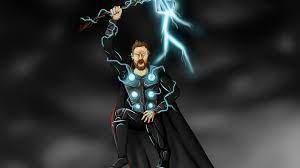 Thor Art Lighting 4k thor wallpapers ...