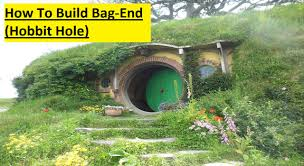 How To Build A Hobbit House How To Build A Hobbit Hole Bag End In Minecraft Youtube