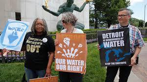 Image result for Detroit water service