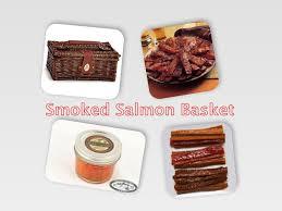 smoked salmon gift basket